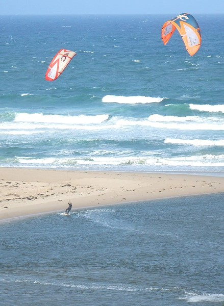 Kite surfing The Entrance photo
