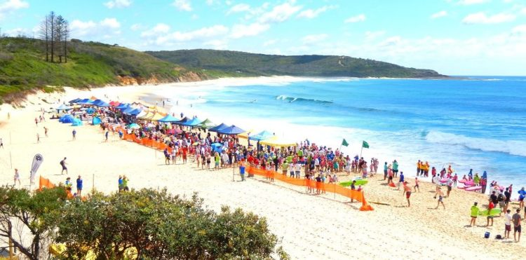 Catherine Hill Bay surf carnival photo